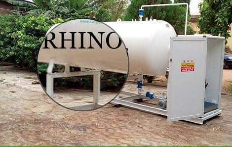Mini cooking gas plant